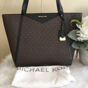 Michael Kors Whitney Large Logo Tote Bag